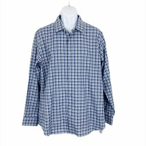 NWT Apt 9 Plaid Long Sleeve Button Down Shirt
